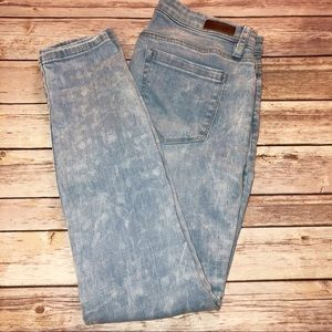 Blank NYC Distressed Skinny Jeans Size 26